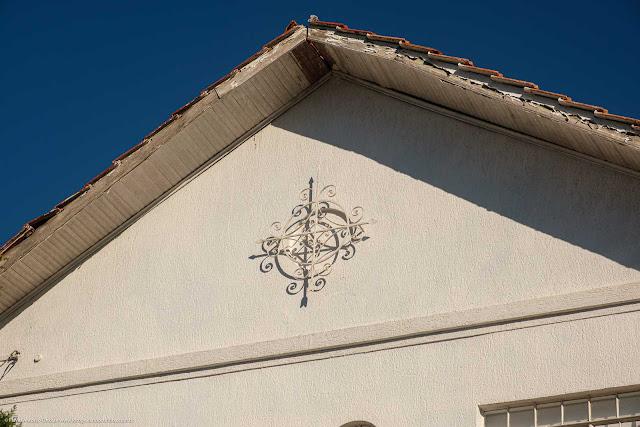 Casa na Rua Dias da Rocha Filho, Curitiba - detalhe ornamento de ferro
