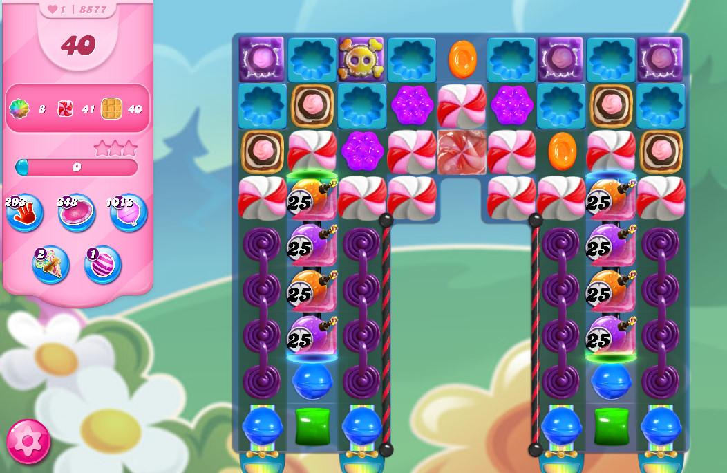 Candy Crush Saga level 8577