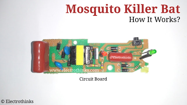 Mosquito Killer Bat Circuit Board