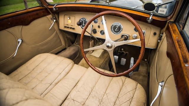 Interior del Bugatti Type 57S Cabriolet 1937
