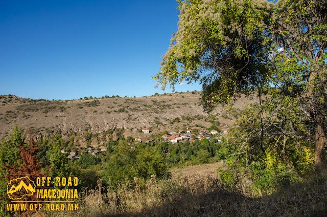 View towards Gradeshnica village