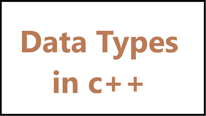 Data Types in C++ - Algomentor