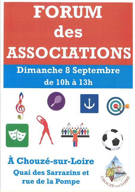 Forum des associations Chouzé-sur-Loire