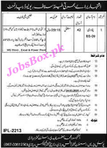 revenue-department-vehari- patwari-jobs-2021