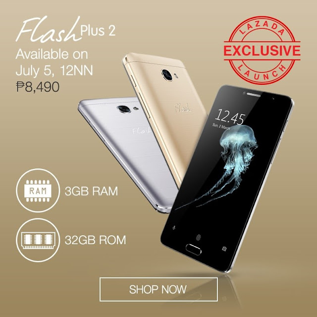 Flash Plus 2 3GB RAM