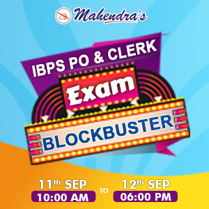 IBPS PO/Clerk Exam Blockbuster