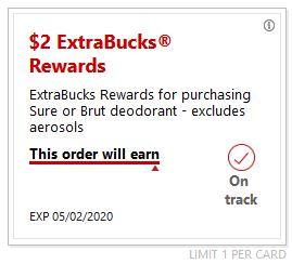 sure extrabuck cvs deals