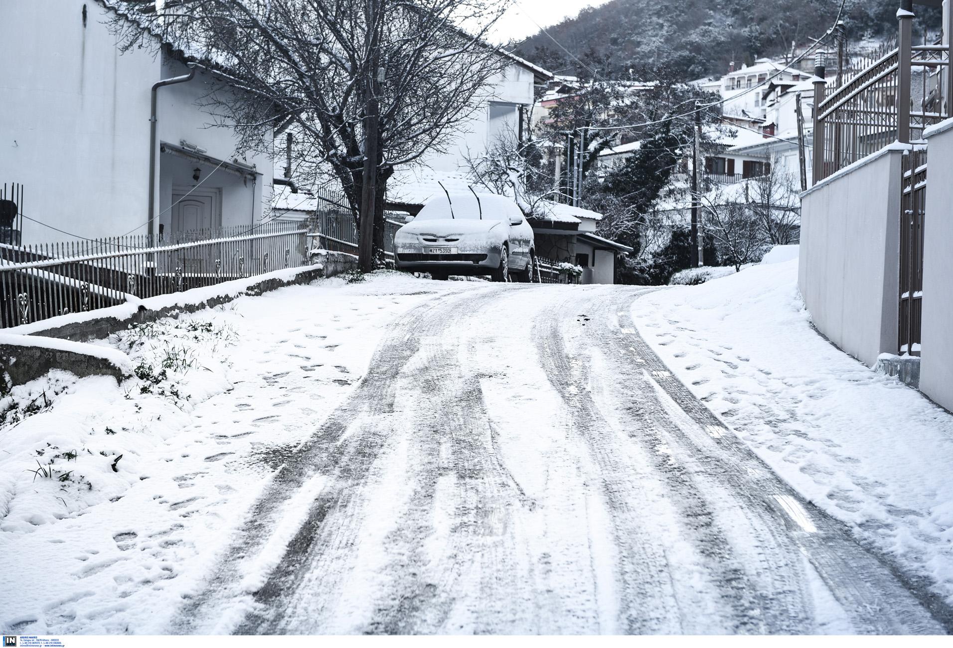 Καιρός – κακοκαιρία «Λέανδρος» – Πολικό ψύχος και χιόνι σε πολλές περιοχές