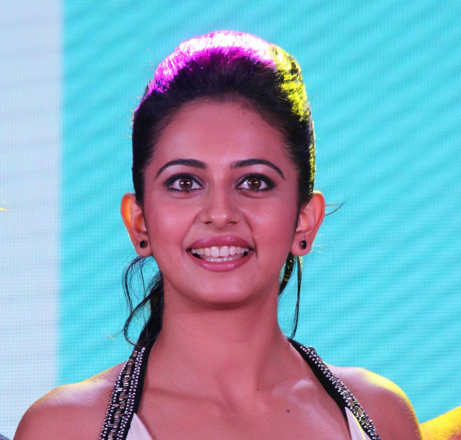 Rakul Preet Singh Gorgeous Photos In White Dress