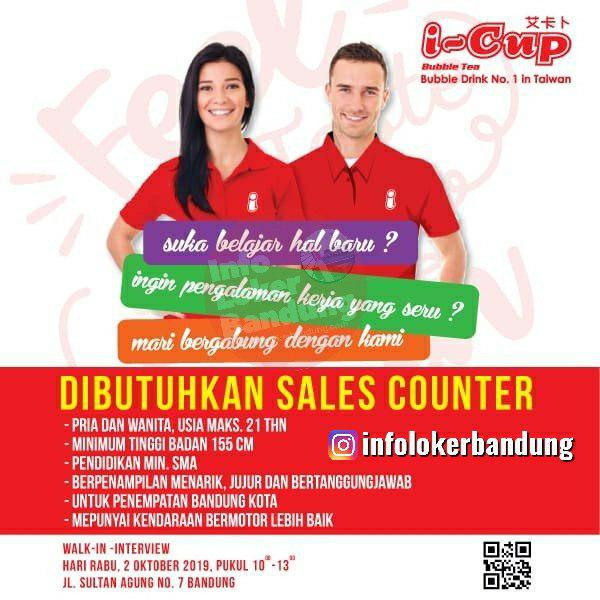 Walk In Interview I Cup Bubblw Drink Bandung 2 Oktober 2019