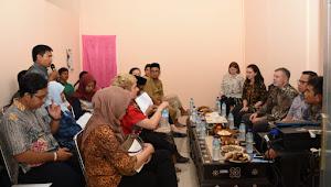 Kolaborasi Adminduk, DHOM dan Bappenas Kunjungi Dukcapil KLU