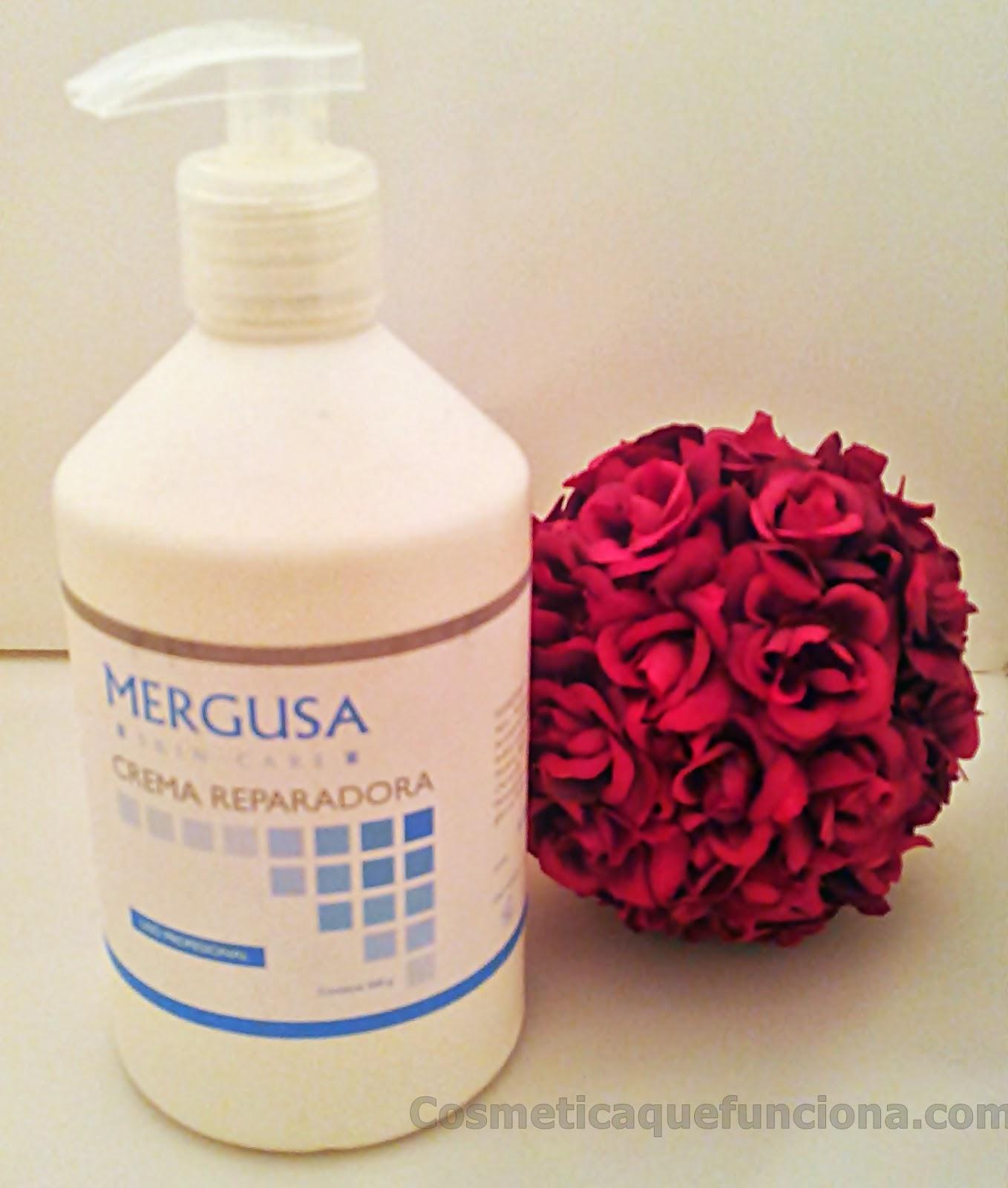 Crema Reparadora de Mergusa. Hidrata y Regenera - Blog de Belleza Cosmetica que Si Funciona