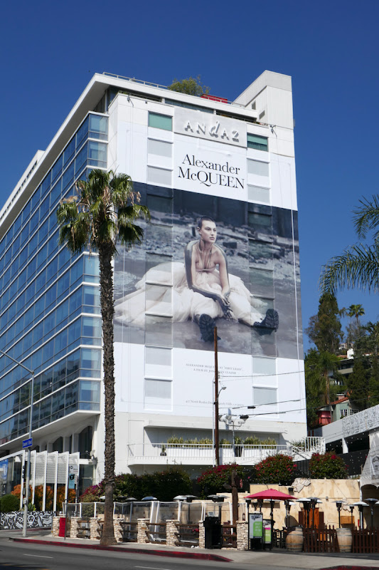 Alexander McQueen Spring 2021 First Light billboard