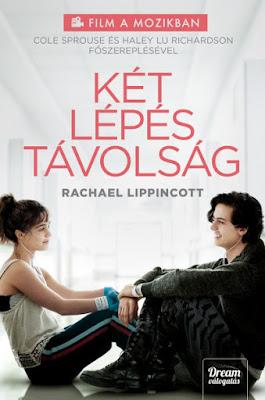 Rachael Lippincott – Két lépés távolság könyves vélemény, könyvkritika, recenzió, könyves blog, könyves kedvcsináló