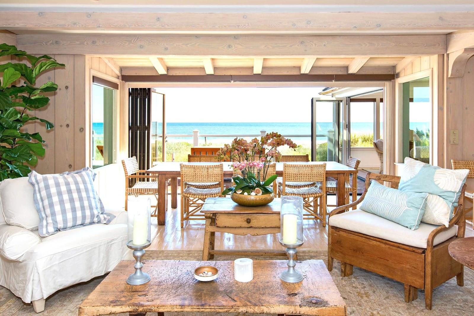 24 million dollar malibu estate see this house - Beach house living room ...
