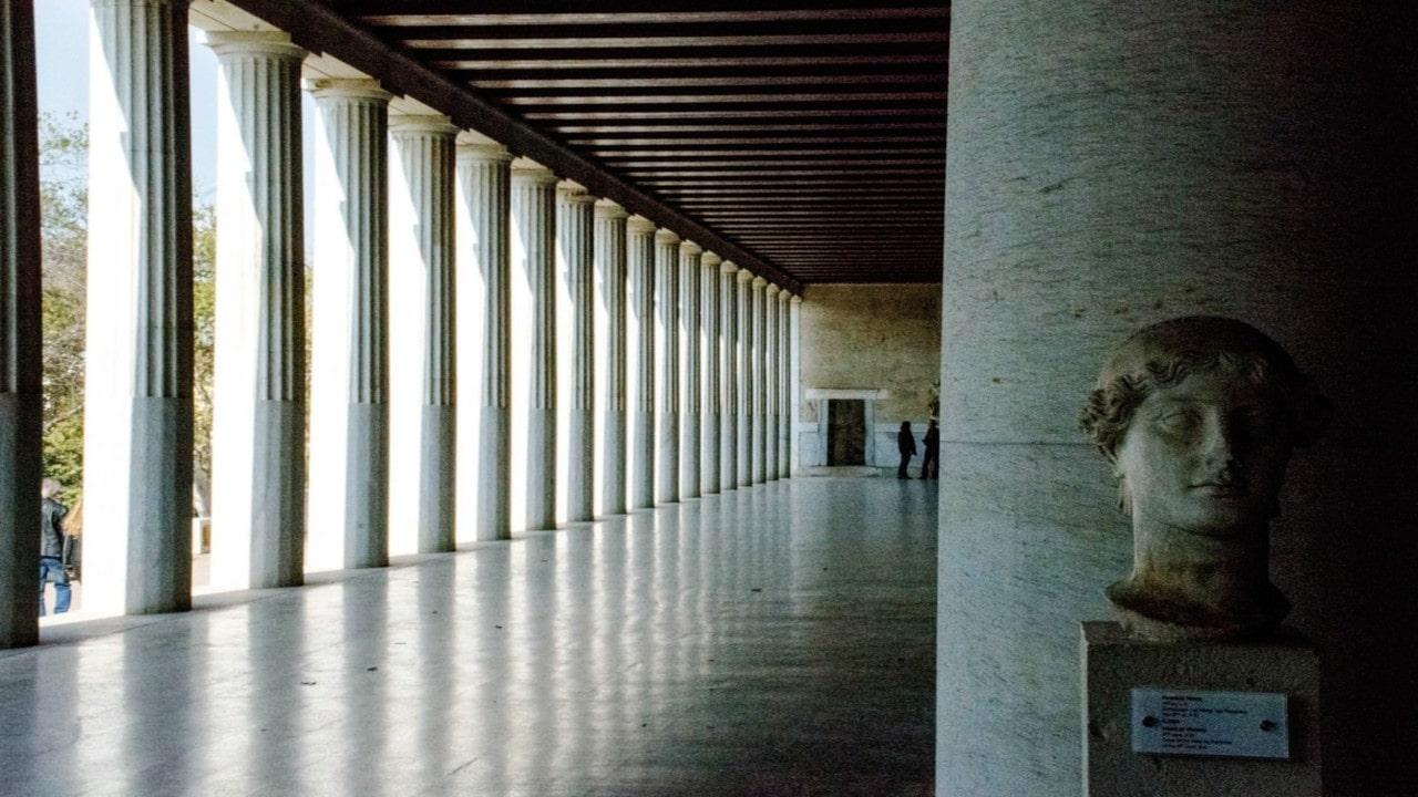 como era la arquitectura griega