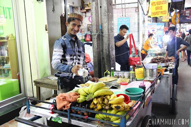 Banana prata - eating in siam and pratunam
