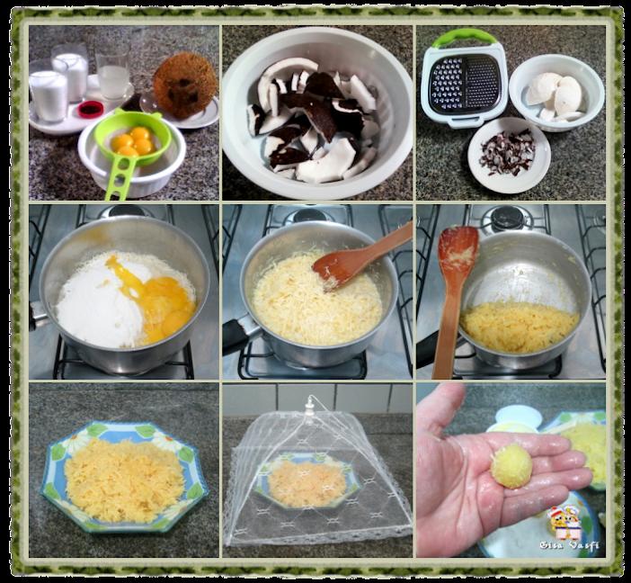 Bolo e cupcake de groselha com beijinho de coco 3