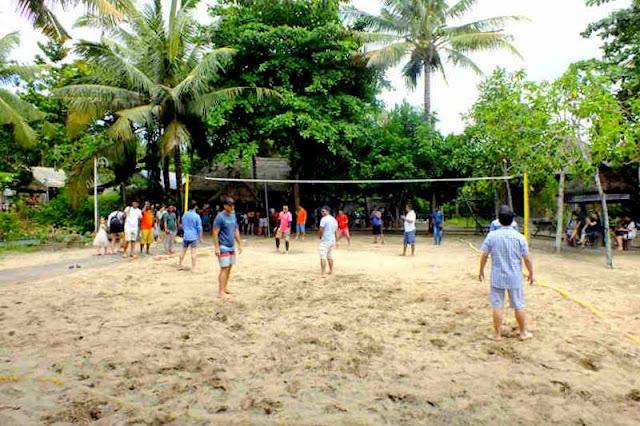 Voli Pantai - Kegiatan Wisata di Nusa Lembongan Bali