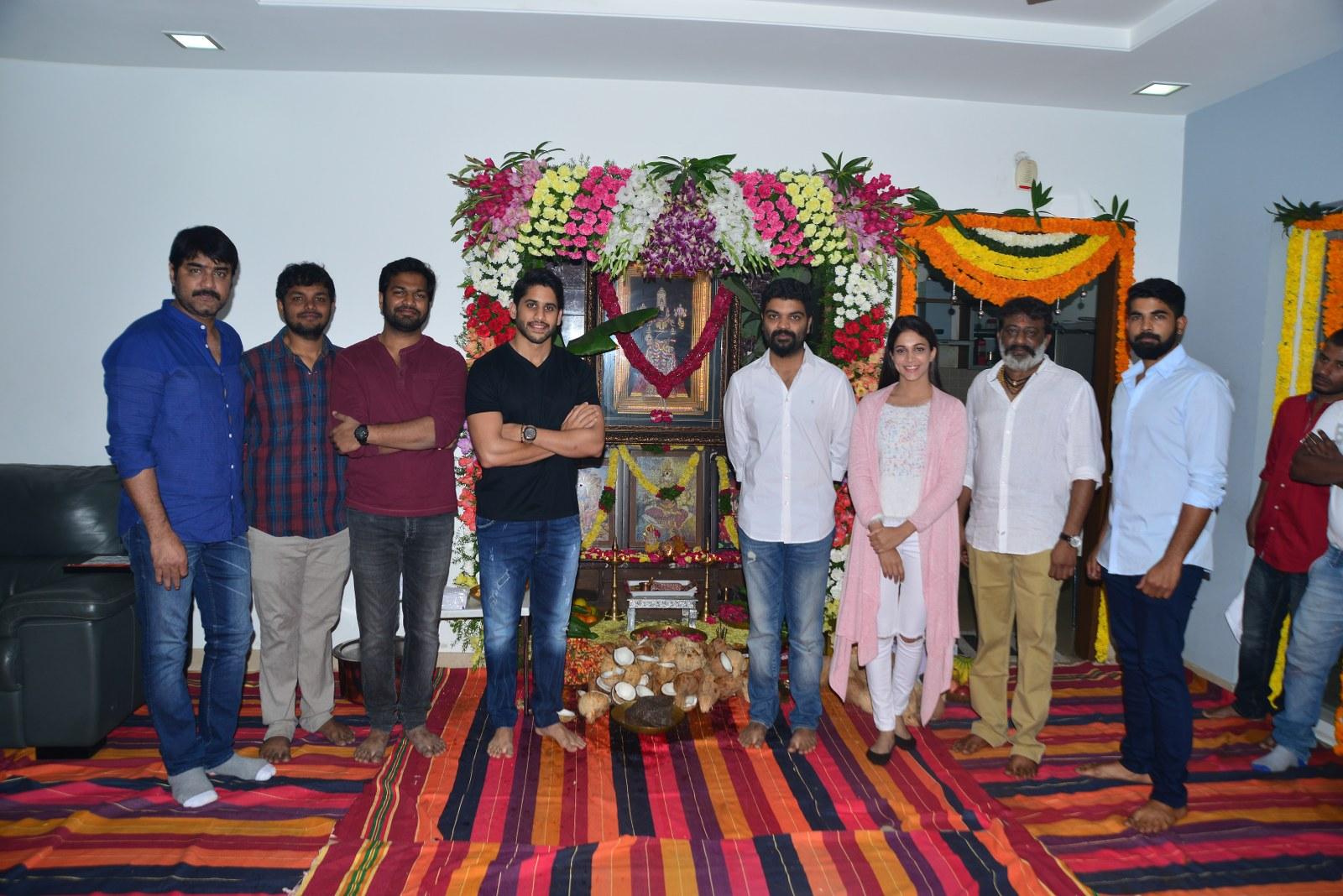 Chaitu Lavanya New Telugu movie Launch-HQ-Photo-1