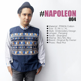 Baju Koko koboy Terbaru 2017 Napoleon style