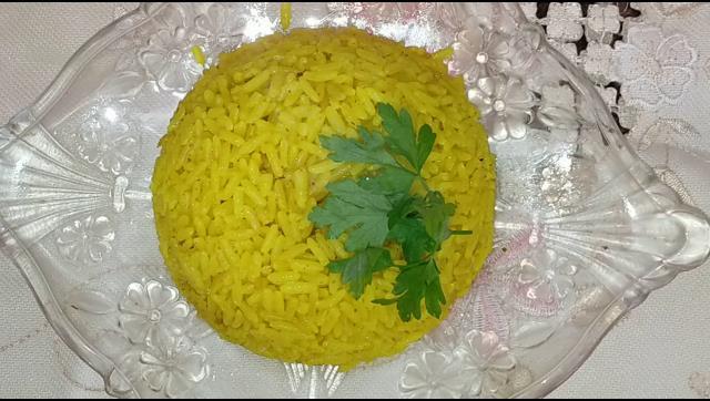 ارز بسمتي الاصفر الرائع الشيف محمد الدخميسي