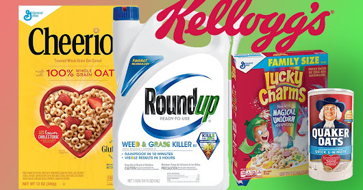 A number of popular breakfast foods, including cereals, granola bars and instant oats, were found to contain potentially dangerous amounts of cancer-linked glyphosate, the main ingredient in Monsanto's Roundup weed killer