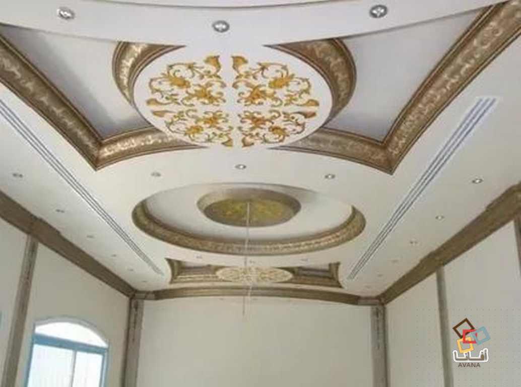 اجمل مجموعة اسقف جبس مداخل عمارات أفانا