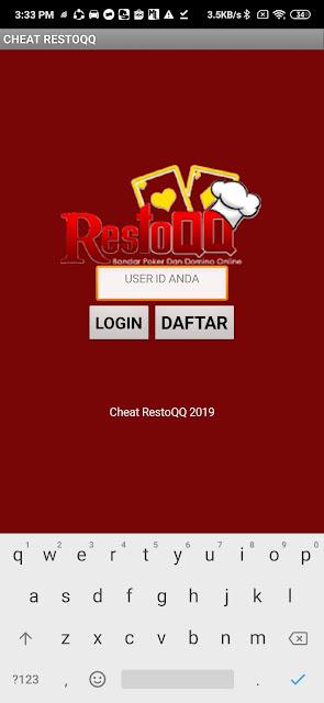 Aplikasi Hack RestoQQ Downdload Disini Secara Geratis Tidak Di Pungut Biaya !