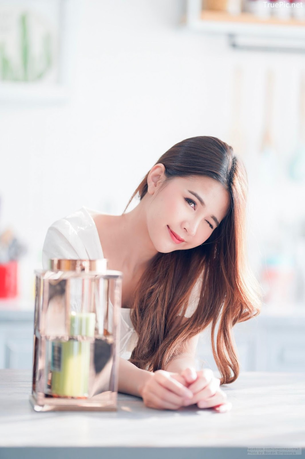 Thailand cute model Supansa Yoopradit (Lorpor) - Lovely smile girl - Picture 9