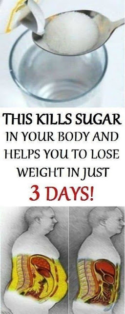 This Kills Sugar In Your Body, It Will Disappear In Just 3 Days, And You Will Lose Weight