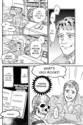 Review del manga La librera calavera Honda-san - Fandogamia