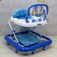 baby walker family mainan gantung