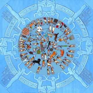 Dendera Zodiac Color Reconstruction