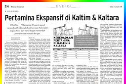 Pertamina is Expansive in East Kalimantan & Kaltara