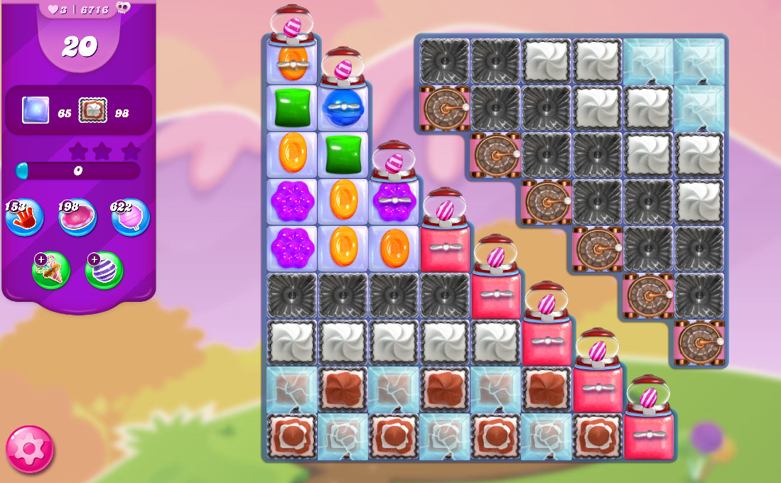 Candy Crush Saga level 6716