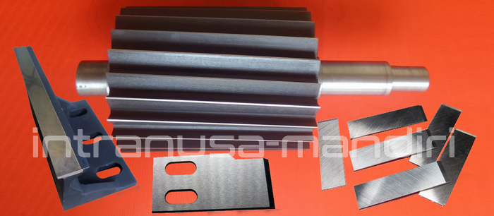 Pisau Pelet Plastik (Pisau Nanas) - Material Full Steels, Plastic Cutting Knife - Material HSS