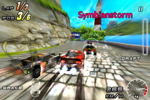 raging thunder 2 hd for symbian s60v5