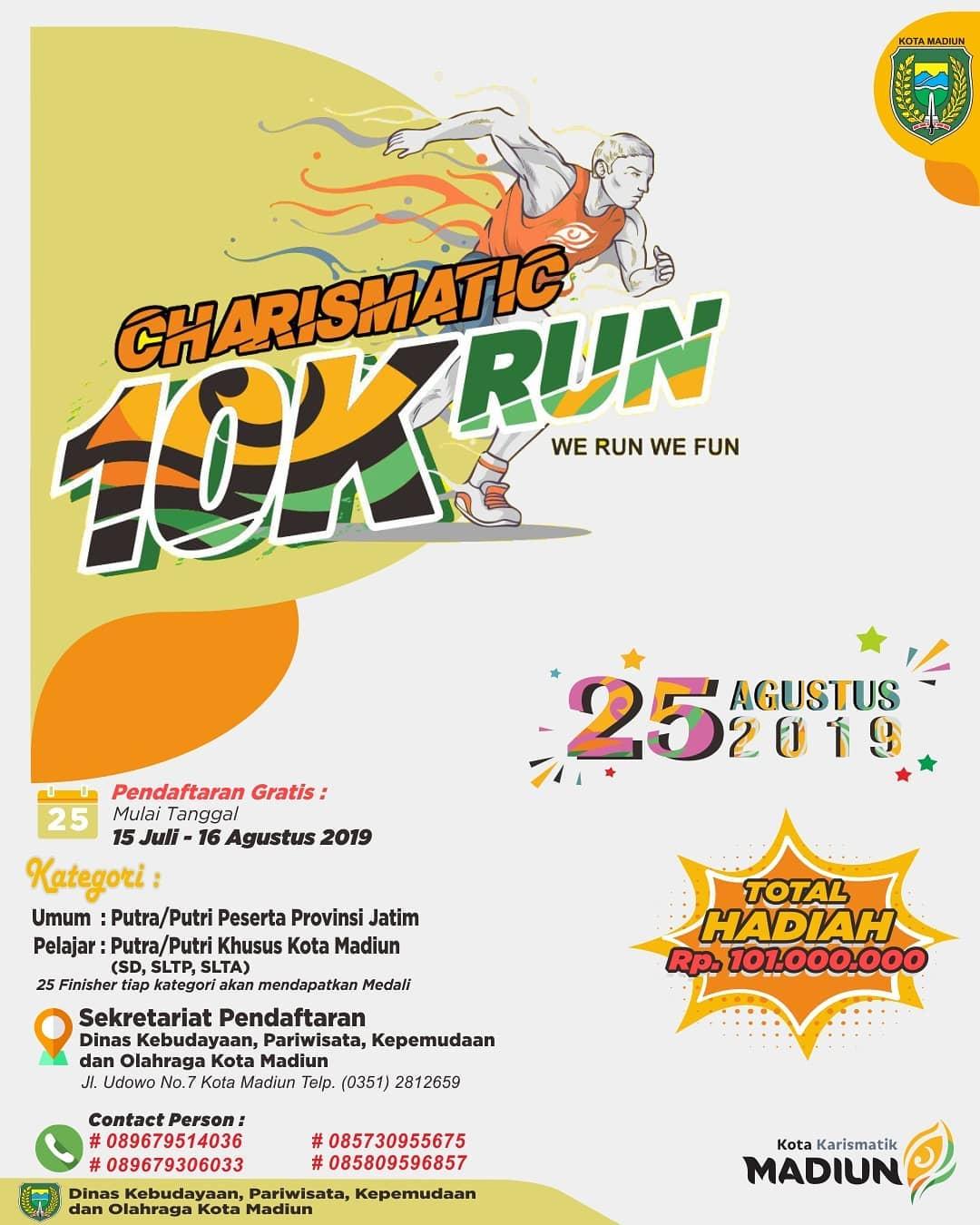 Charismatic 10K Run • 2019