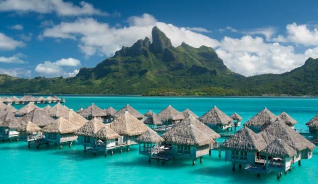 tatil için dünyanın en güzel 5 adası bora-bora adası