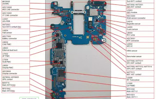 مخخط سامسونج S9 G960U  ومخطط سامسونج اس 9 بلاص  S9 G965U+