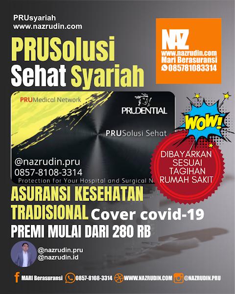 Asuransi Solusi Kesehatan Syariah Cover Covid 19 dan Isolasi Mandiri