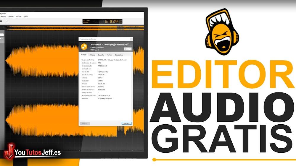 Descargar Ocenaudio Ultima Versión - Editor de Audio Gratis para PC