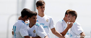 Rivales del Juvenil de Guti en la Uefa Youth League