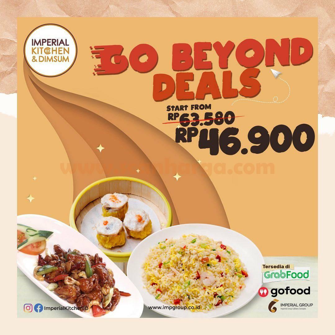 Imperial Kitchen & Dimsum Promo Paket GO BEYON DEALS harga mulai Rp 46.900,-