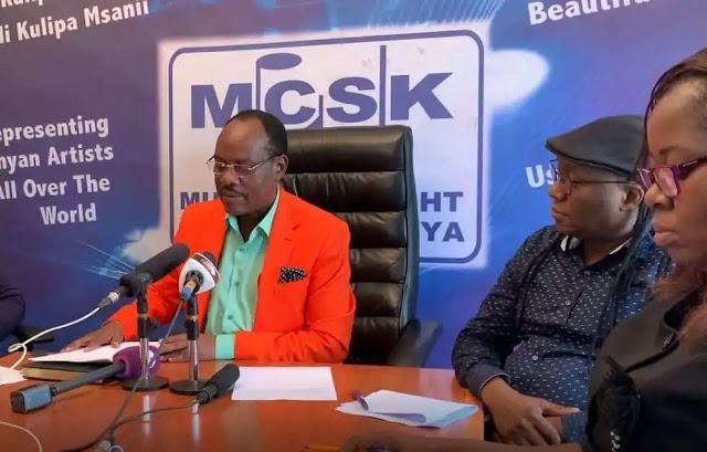 MCSK Chairman Japheth Kasanga. PHOTO   BMS