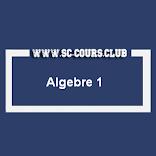 COURS D ALGEBRE 1  SMPC S1 PDF