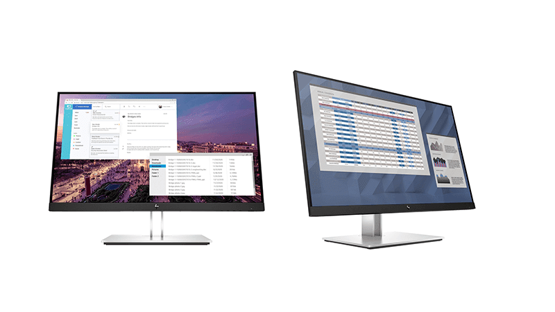 HP E23, E27 G4 desktop monitors now in PH with Eye Ease Technology