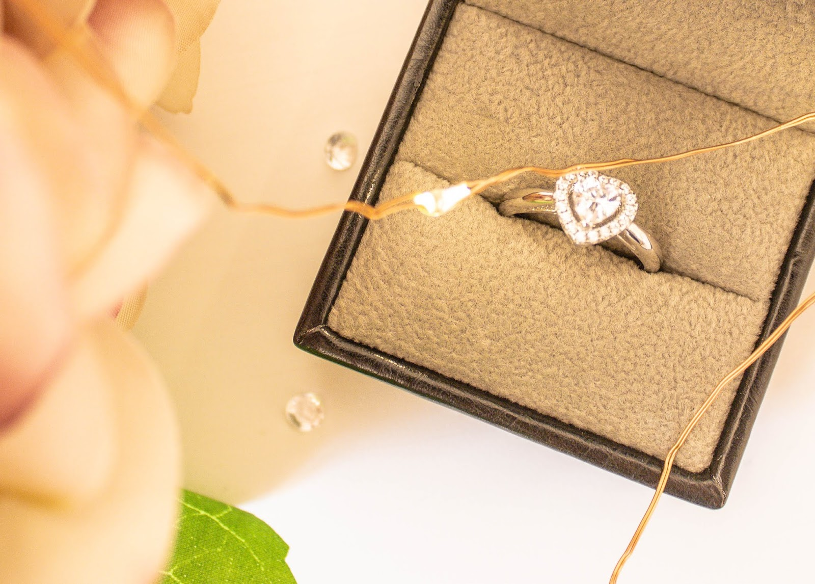 Diamond engagement ring from Abelini Jewellery Hatton Garden London
