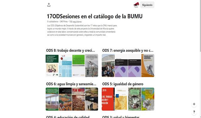 17ODSesiones en el catálogo de la BUMU